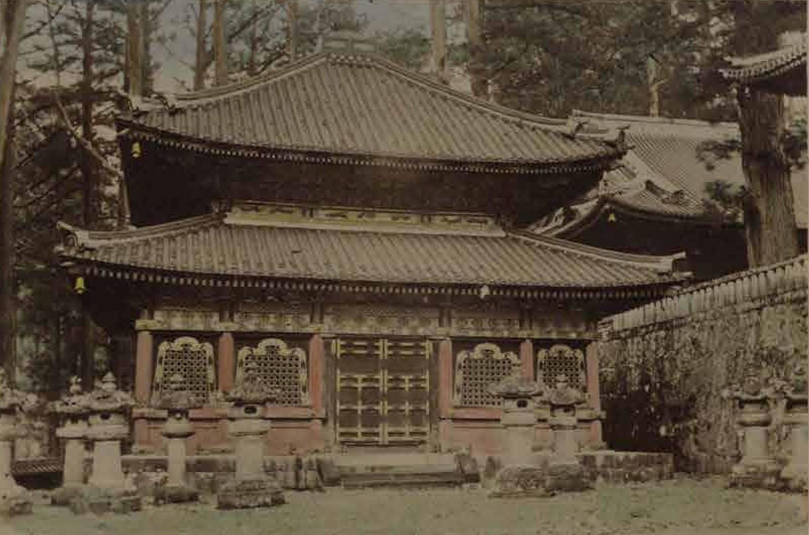 18. 1891. Киото. Храм Спасения, осмотренный цесаревичем