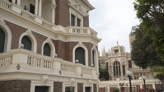 Aisha Fahmy Neoclassical and its neighbor Gothic palace