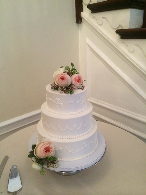 Wedding Cake by Stella's Bakery