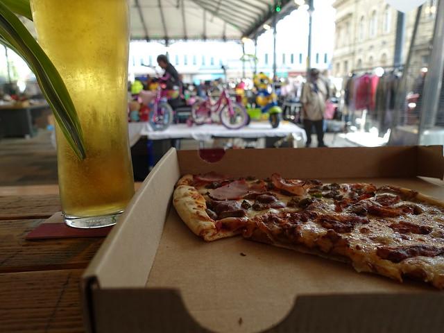 Pizza and Pint at Preston Market