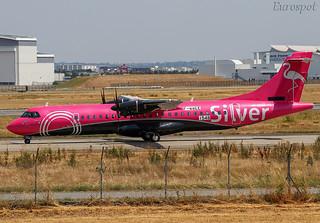 F-WWEE ATR72 Silver