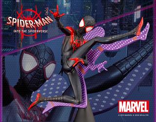 ARTFX+ 《蜘蛛人:新宇宙》「蜘蛛人(邁爾斯·摩拉斯)」1/10比例上色完成品!マイルズ・モラレス ヒーロースーツ INTO THE SPIDER-VERSE