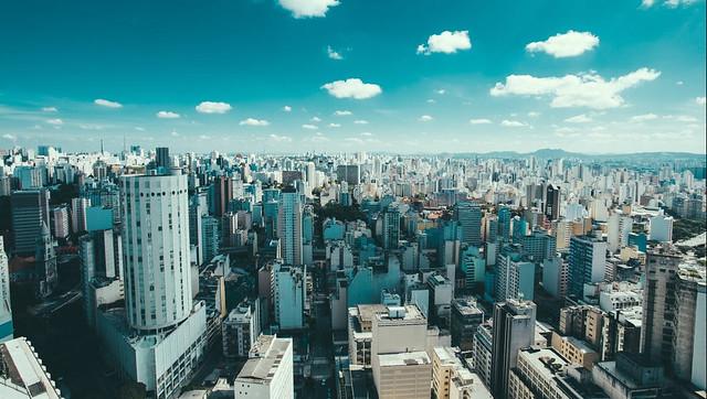 Cityscape of São Paulo