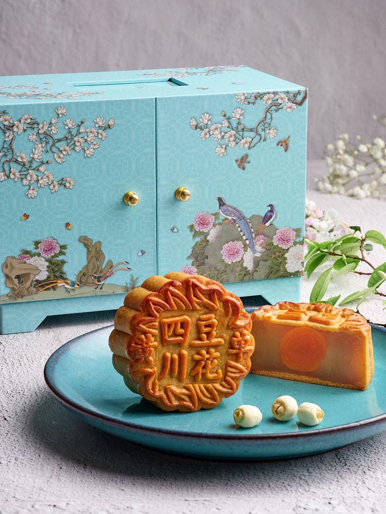Si Chuan Dou Hua White Lotus Paste with Single Yolk