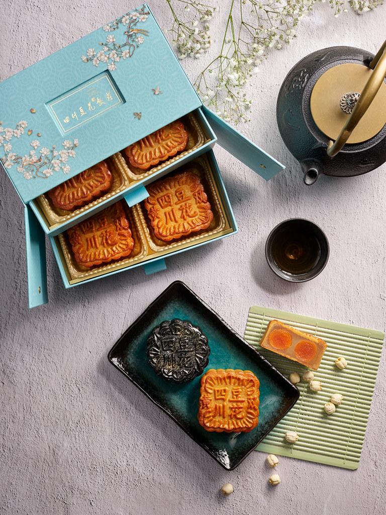 Si Chuan Dou Hua White Lotus Paste with Double Yolks