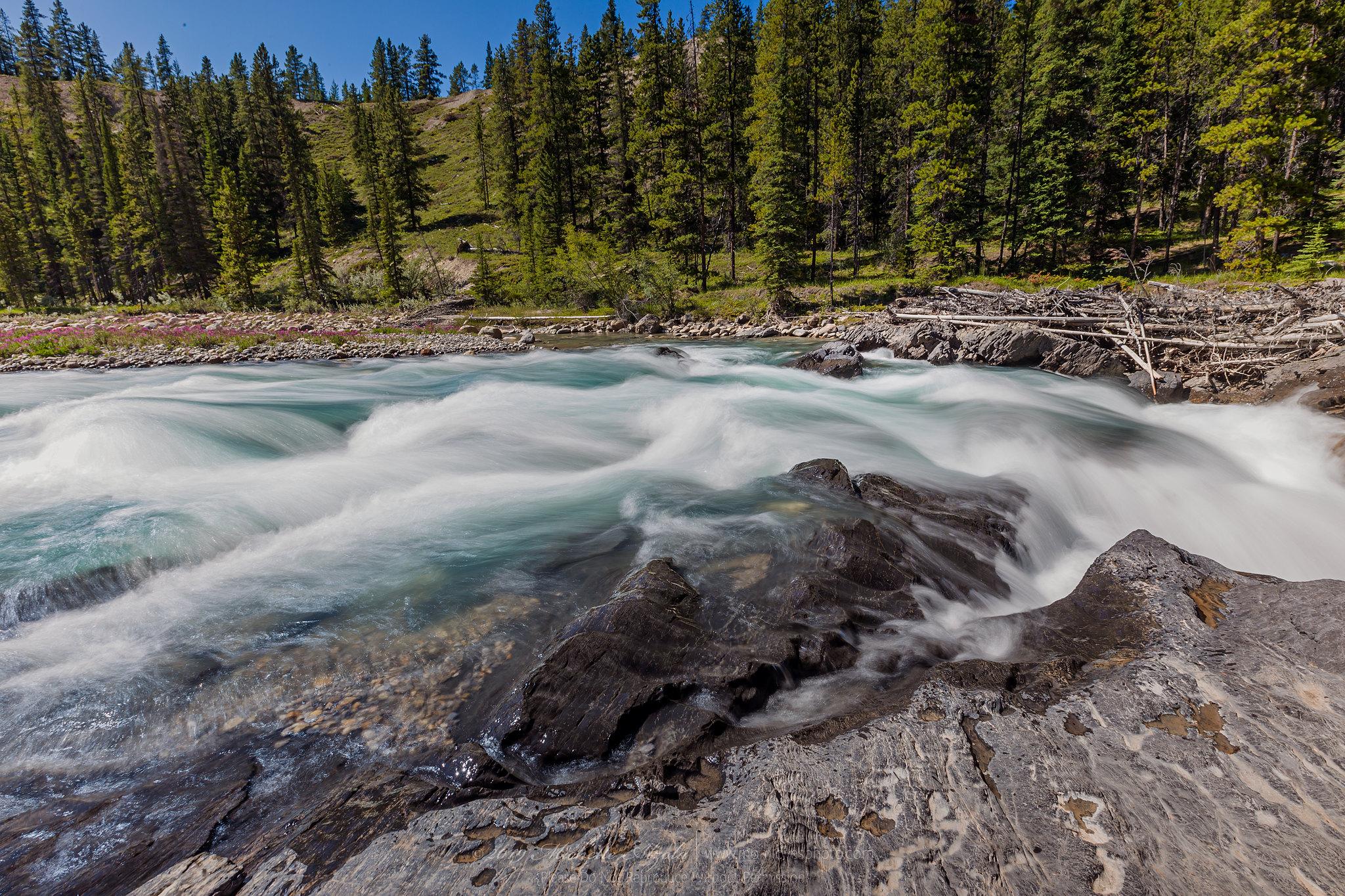 Siffleur Falls