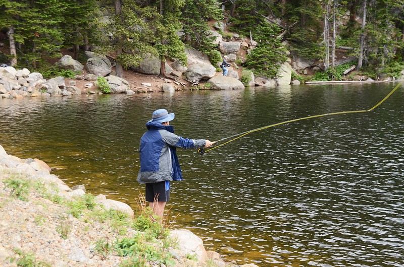 Fly fishing, Idaho Springs Reservoir  (32)