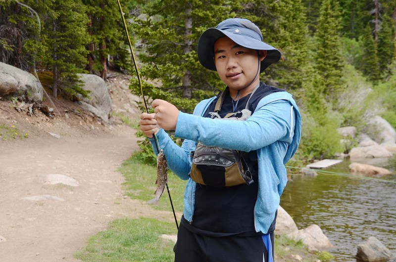 Fly fishing, Idaho Springs Reservoir  (22)