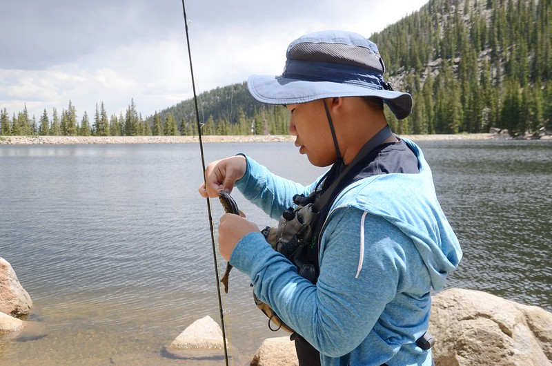 Fly fishing, Idaho Springs Reservoir  (20)