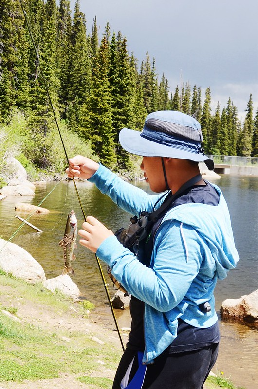 Fly fishing, Idaho Springs Reservoir  (19)
