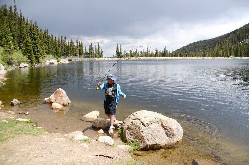 Fly fishing, Idaho Springs Reservoir  (18)