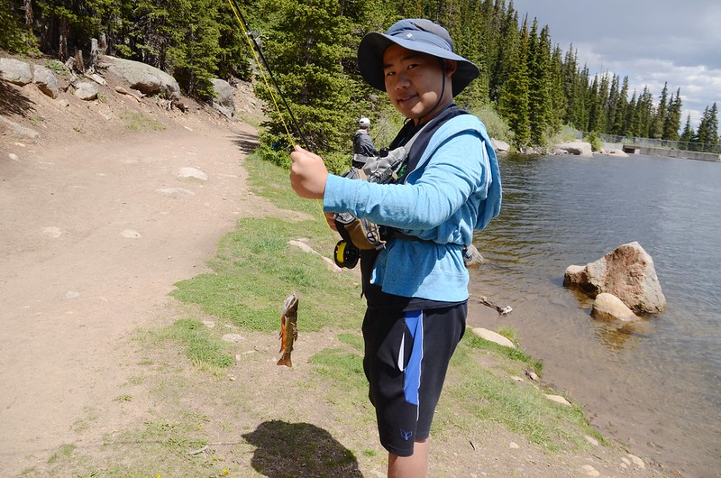 Fly fishing, Idaho Springs Reservoir  (16)