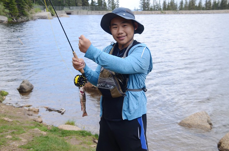 Fly fishing, Idaho Springs Reservoir  (9)