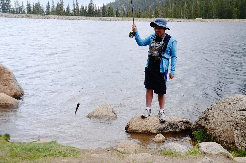 Fly fishing, Idaho Springs Reservoir  (8)