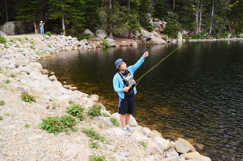 Fly fishing, Idaho Springs Reservoir  (4)