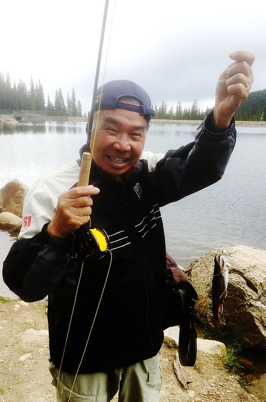 Fly fishing, Idaho Springs Reservoir  (1)