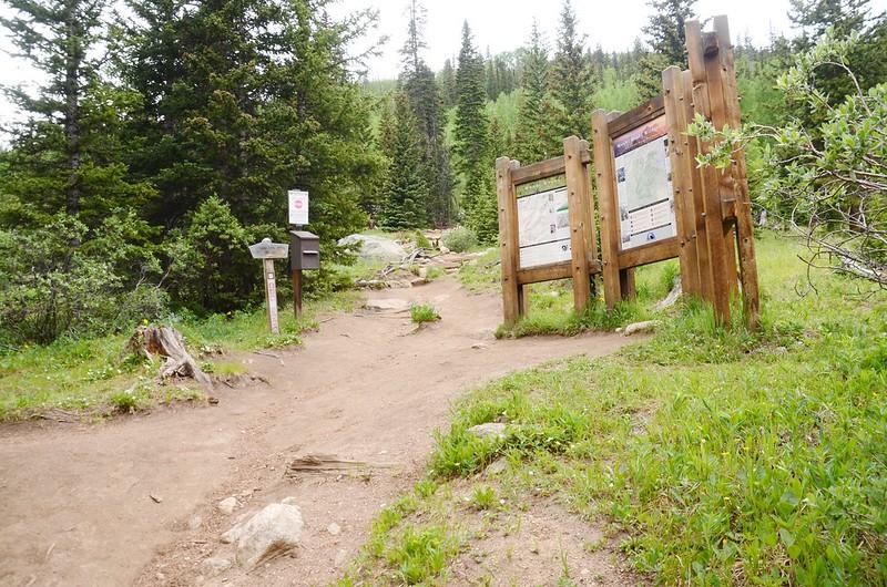 Entering the Mount Evans Wilderness