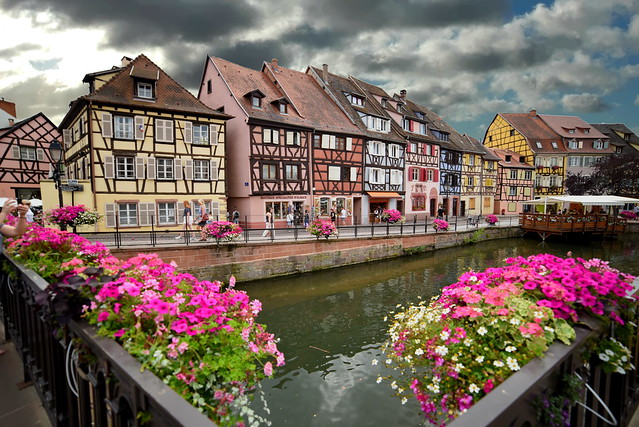 quartier pittoresque (Colmar, F)