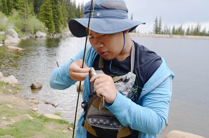 Fly fishing, Idaho Springs Reservoir  (24)
