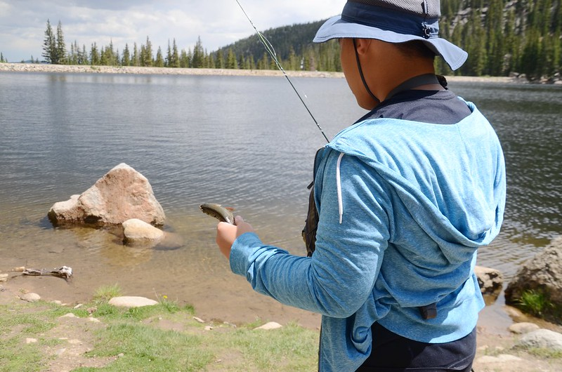 Fly fishing, Idaho Springs Reservoir  (21)