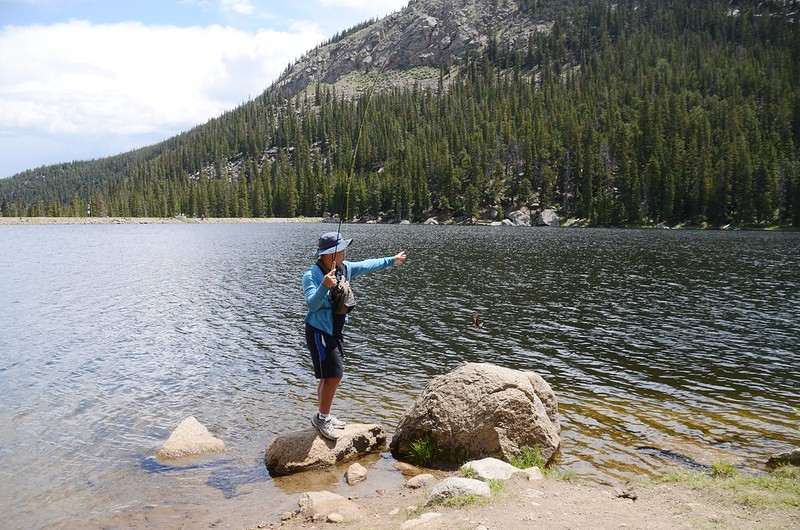 Fly fishing, Idaho Springs Reservoir  (15)