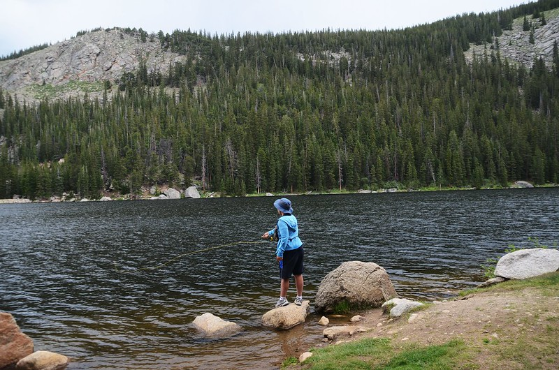Fly fishing, Idaho Springs Reservoir  (7)