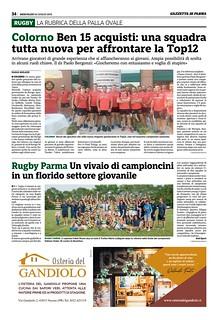 Gazzetta di Parma 24.07.19 - pag. 34