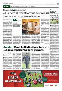Gazzetta di Parma 24.07.19 - pag. 35