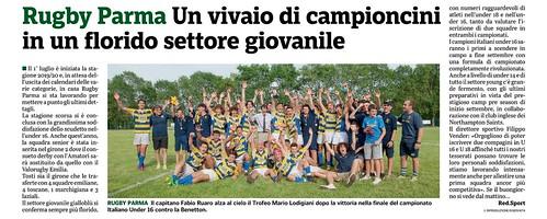 Gazzetta di Parma 24.07.19 - Nuova stagione