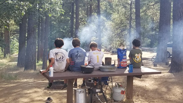 2019-07-12 Mt Laguna biking & hiking campout