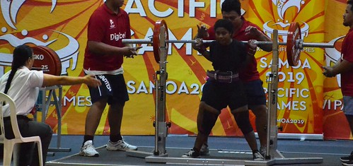 Powerlifting at the Pacific Games (Samoa, 2019)