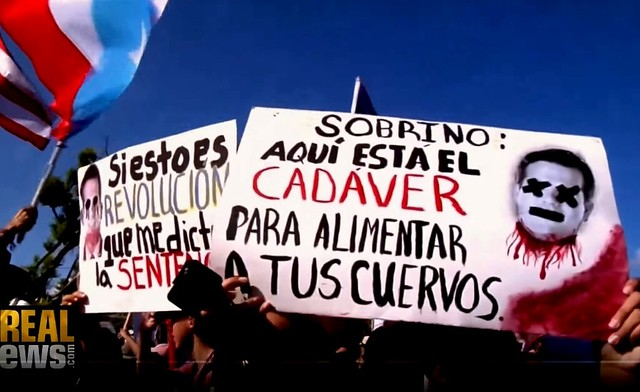 Puerto Rico Rises Up by Jason Cohen + Corruption, Mismanagement, and Disrespect Fuel Puerto Rico Protests
