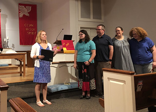 The Woodroof Family joined the Glendale Family on July 21, 2019 | by GlendaleUMC