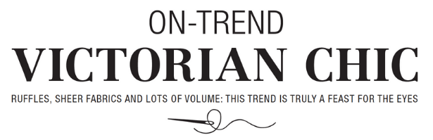 Victorian Trend Pattern TITLE