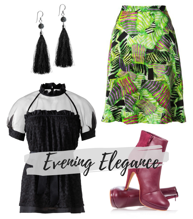 Victorian Trend Pattern EVENING ELEGANCE