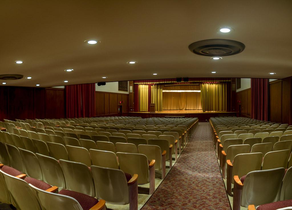 Auditorium, Derryberry Hall, Tennessee Tech University, Cookeville, Tennessee