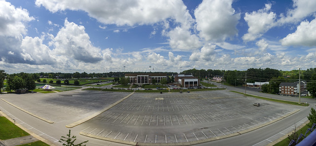 Campus Panorama, Tennessee Tech University, Cookeville, Tennessee 5