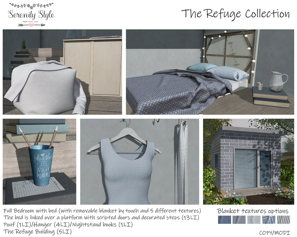 Serenity Style- The Refuge Collection Ad - TeleportHub.com Live!