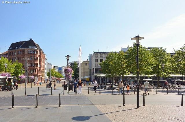 Saarbrücken, Platz vorm Hauptbahnhof