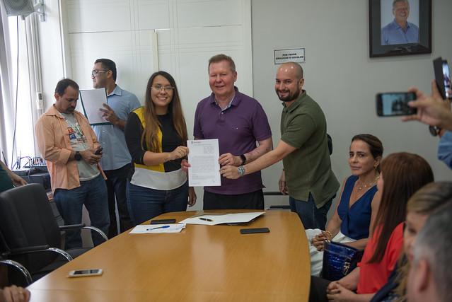 Manaus 24.07.19 Prefeito lança cursos de qualificação