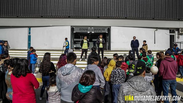 Visita Guiada Estadio Sausalito Asoc. de Futbol Nva Aurora y Viña del Mar