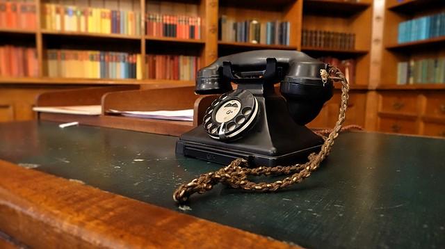 Bletchley Park 1940s. July 2019. Hotline