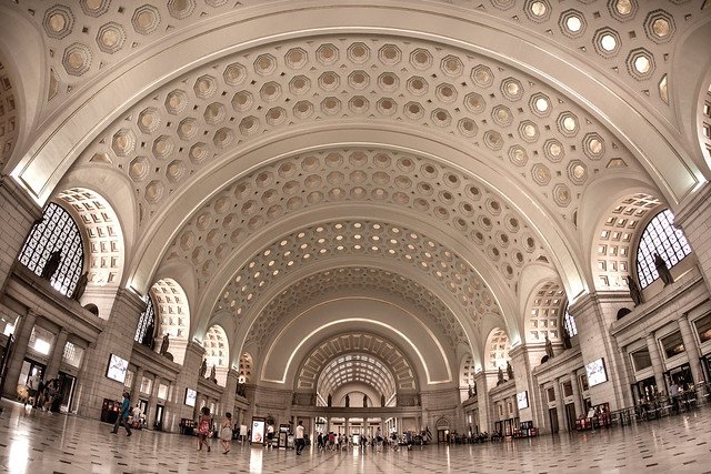 Union Station Interior - Washington DC