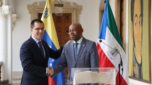 Venezuela y Guinea Ecuatorial firman acuerdos de cooperación en el marco de la I Comisión Mixta