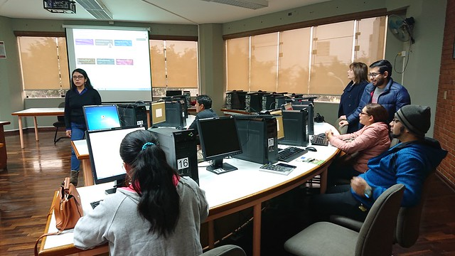 Profesores de los colegios de Santa Anita participaron en taller: Tecnologías de la Información aplicadas de la Educación en la Facultad de Ingeniería y Arquitectura de la USMP
