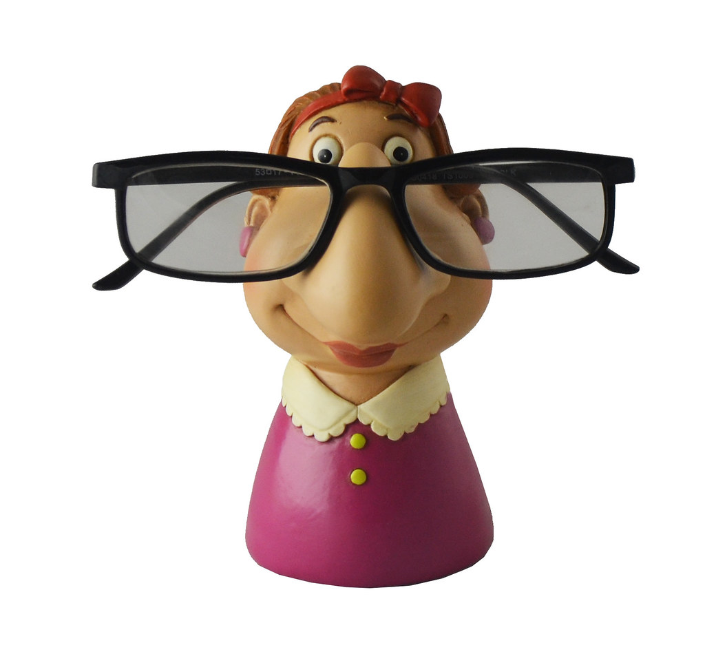 Grandma Eyeglass Holder