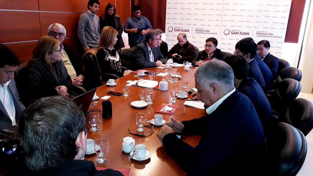 reunión delegación china