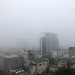 濃霧  fog