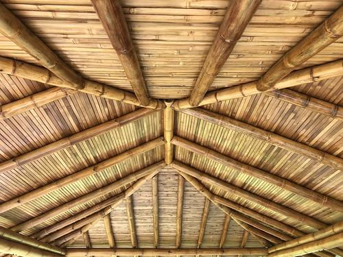 cemba bamboo bambu roof bambooarchitecture structure bamboostructure ecuador guadua casadeguadua