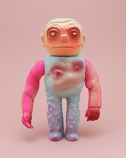 """2011 Grody Shogun """"Baby Blu Monster"""" Wolfman Head Version (Lulubell Exclusive)"""